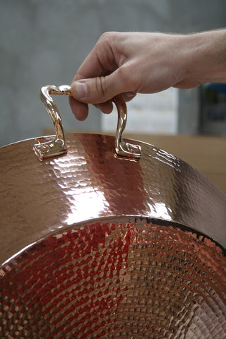 Copper Paella Pan, 13