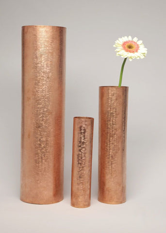 Copper Tubes - Bowls - Set of 3 - AmorettiBrothers