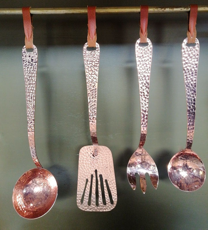Luxury Copper kitchen utensils handmade by Amoretti Brothers