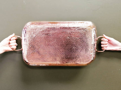 Copper Tray - 18.7