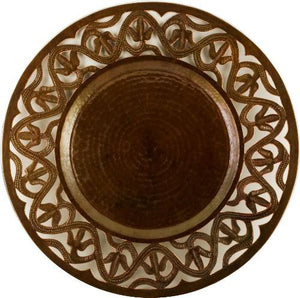 Plate Charger - Flower - AmorettiBrothers