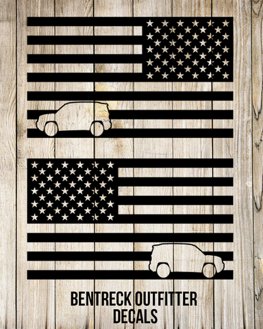 American Flag Renegade Decal