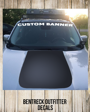 Custom Banner Decal