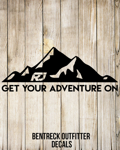 Get Your Adventure On Decal