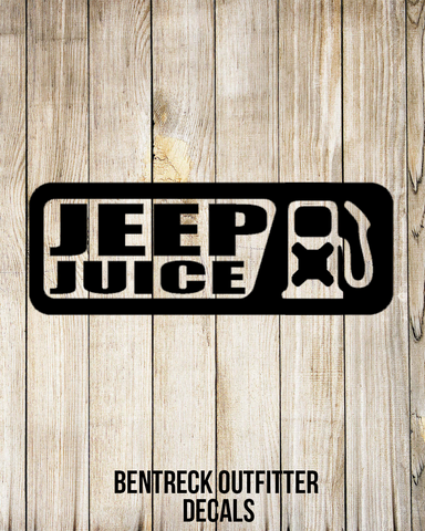 Jeep Juice Decal