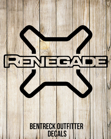 Renegade X Decal