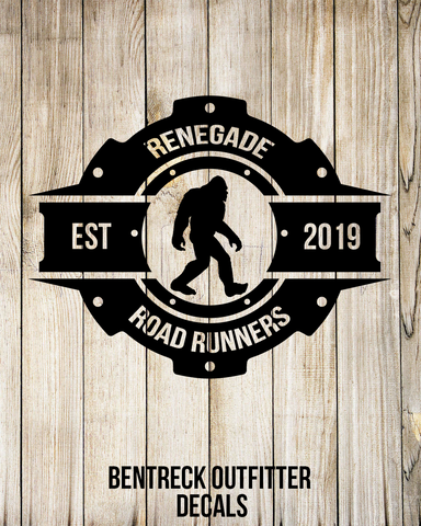 Renegade Road Runners Decal