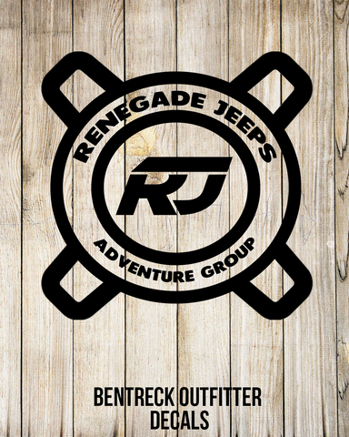 Renegade Jeeps Adventure Group Decal
