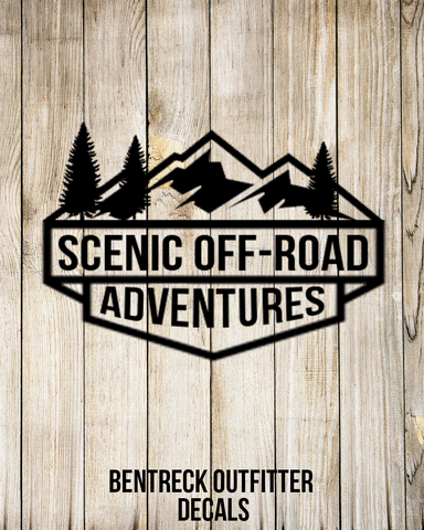 Scenic Off Road Adventures Group Decal