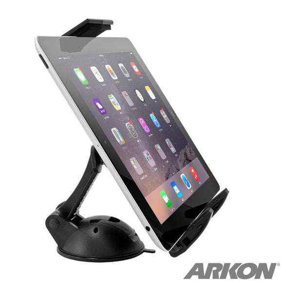Arkon Sticky Suction Windshield or Dash Tablet Mount - Push Button Release
