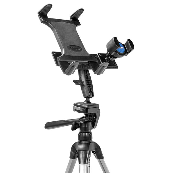 TW Broadcaster Tablet and Phone Tripod Mount Holder for Streaming Live Video