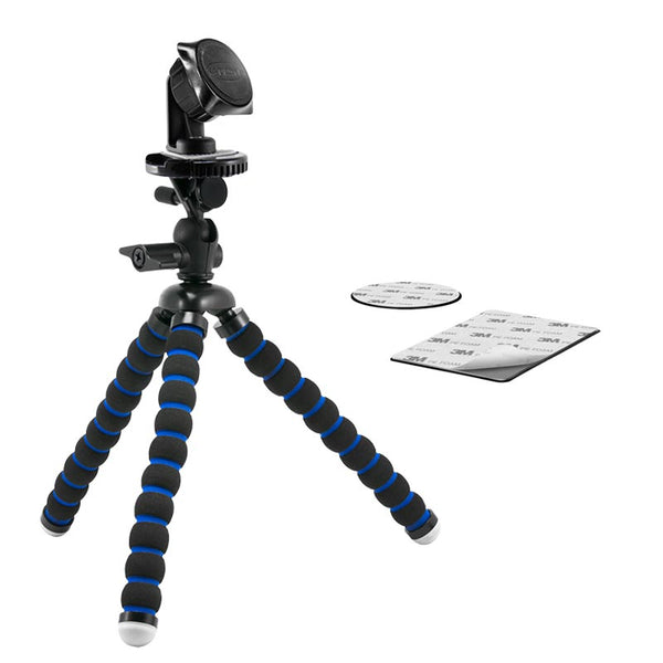 "Arkon 11"" Flexible Tripod with Magnetic Phone Holder for Streaming Live Video"