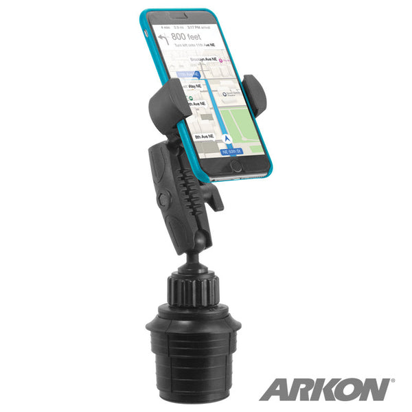Arkon Car Cup Holder Phone and Midsize Tablet Mount