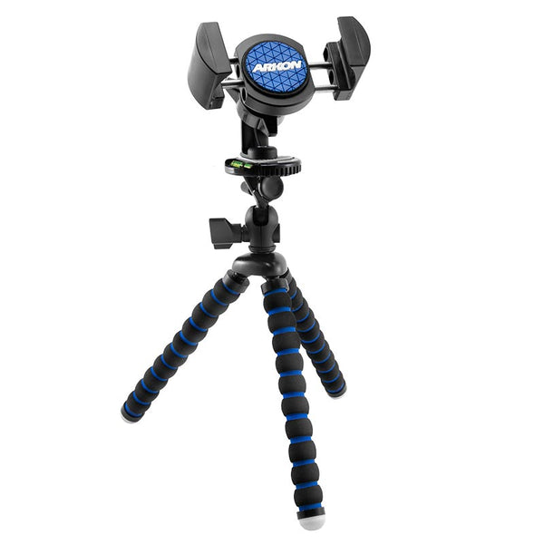 "Arkon 11"" Tripod with Phone Holder Mount for Streaming Live Video"