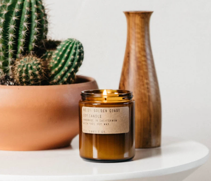 Standard Golden Coast Candle