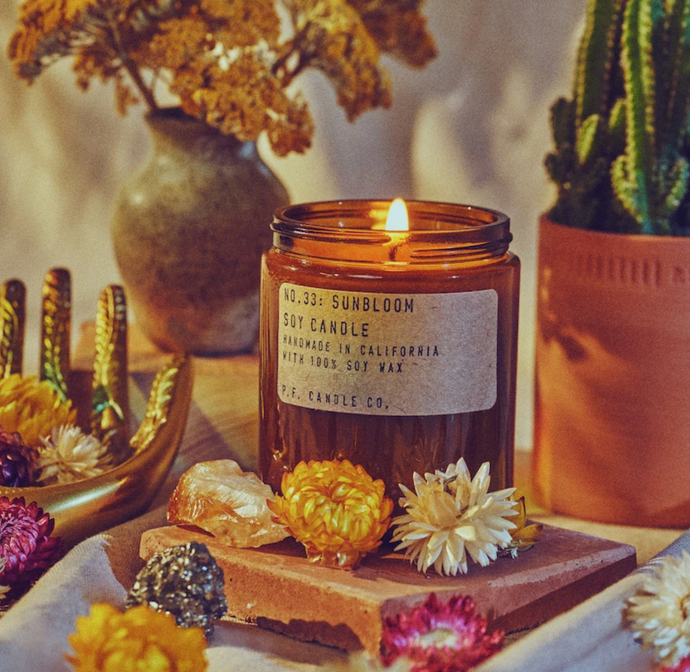 Sunbloom Candle