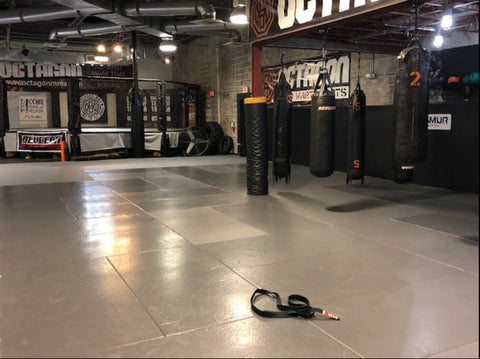 inside dallas octagon mma gym