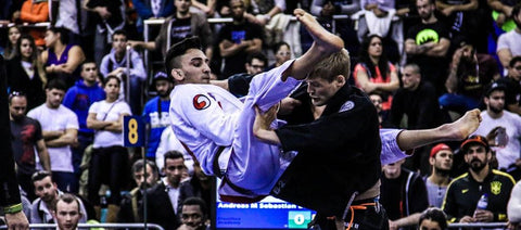 Edwin Najmi in a BJJ match