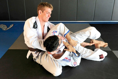 Keenan showing bjj moves