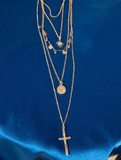 CROSS COMPASS NECKLACE