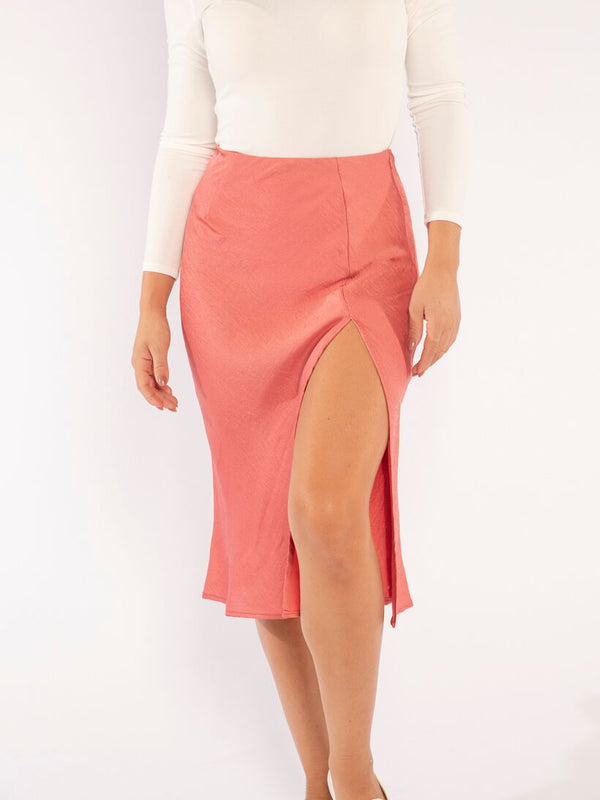 THE ROSE SLIT SKIRT