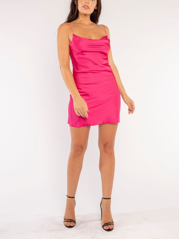 LIFE OF THE PARTY DRESS IN PINK