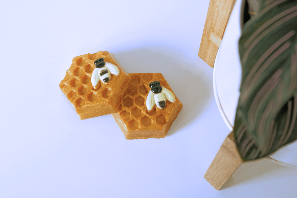 Bee and Honeycomb Soap - Sunset Soap Co.