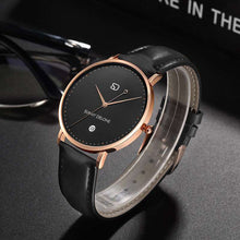 Load image into Gallery viewer, Model Amour - Date - Quartz Movement - Elegant Modernized Minimalist Watch 40mm