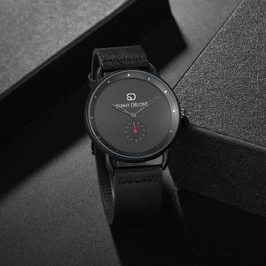 RPM - Red Arm Sub Dial Minimalist Japanese Movement Watch 41mm