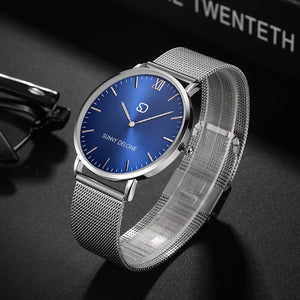 Admiral Blue - Japanese Quartz Movement - Minimalist Watch 40mm