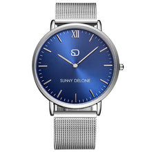 Load image into Gallery viewer, Admiral Blue - Japanese Quartz Movement - Minimalist Watch 40mm