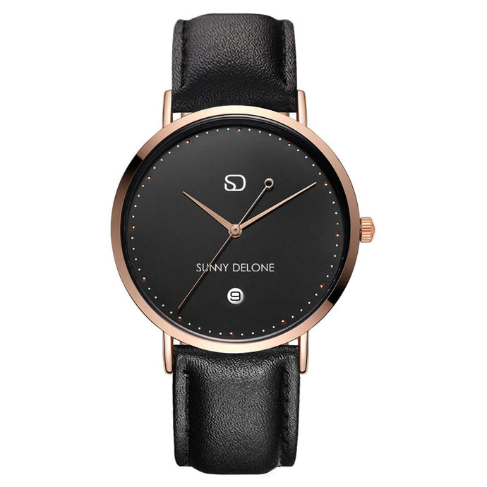 Model Amour - Date - Quartz Movement - Elegant Modernized Minimalist Watch 40mm