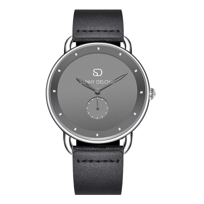 Armourdelone - Gunmetal Minimalist Quartz Movement Watch 41mm