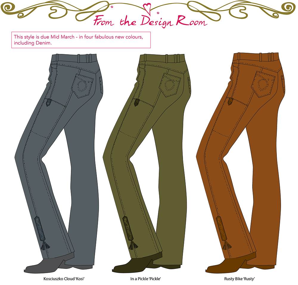 Final line drawings TukTuk riding jeans style #276