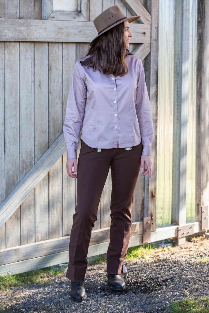 Casual Riding Trousers (Style #263) | Chocolate - TukTuk Clothing