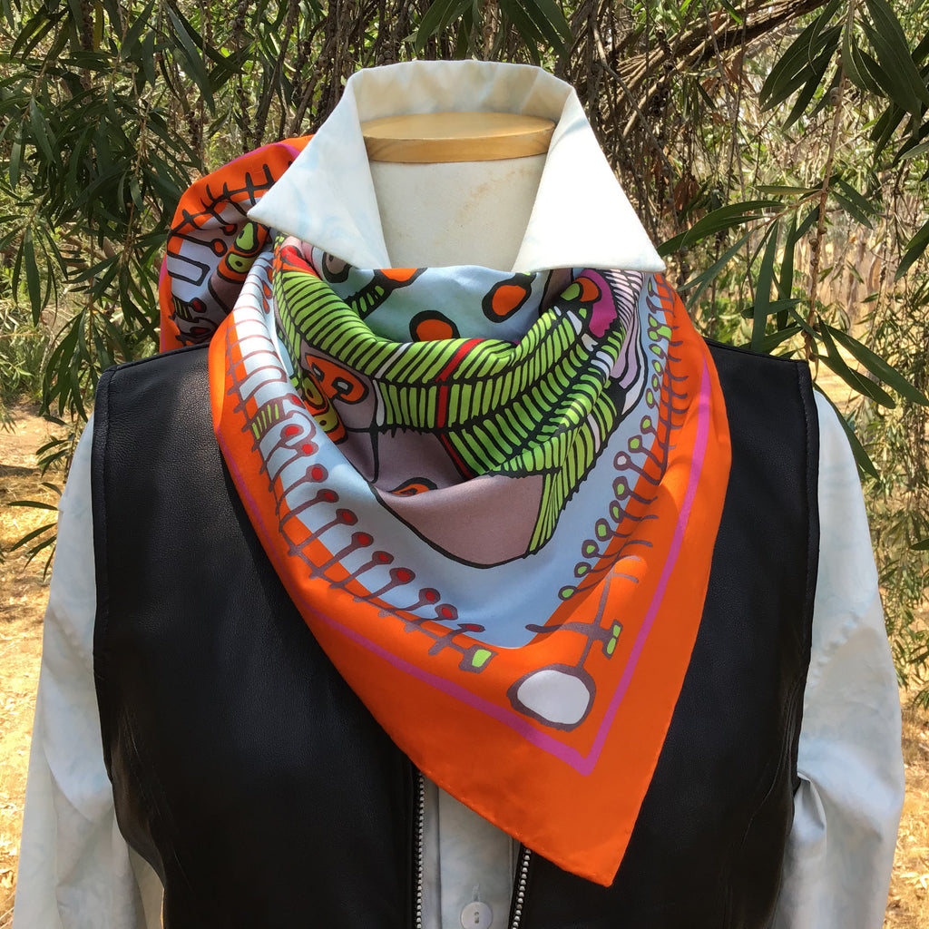 LaLuna | Cotton Scarf - TukTuk Clothing