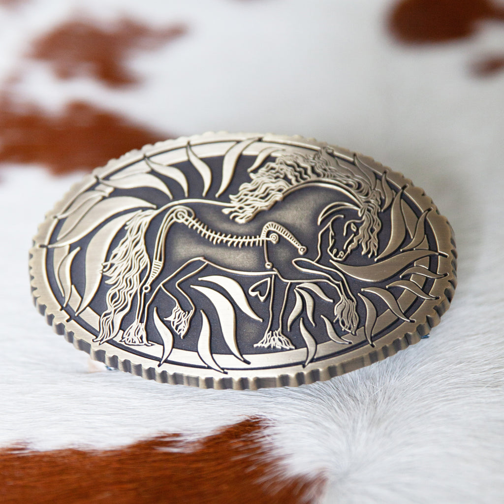 Ted Belt Buckle | Antique Bronze - TukTuk Clothing