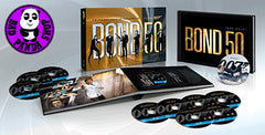 Bond 50th Anniversary Complete Collection (24 Blu-Rays) (Region A) (Hong Kong Version) a.k.a. 007 James Bond