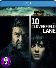 10 Cloverfield Lane 末世街10號 Blu-Ray (2016) (Region A) (Hong Kong Version)