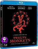 12 Monkeys Blu-Ray (1995) (Region A) (Hong Kong Version)