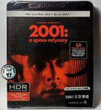2001: A Space Odyssey 2001太空漫遊 4K UHD + Blu-Ray (1968) (Hong Kong Version)