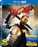 300: Rise Of An Empire 2D + 3D Blu-Ray (2014) (Region Free) (Hong Kong Version) 2 Disc Edition Lenticular Cover