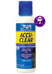 API Accu-Clear 118ml Quickly Clarifies Cloudy Water (API) (Water Conditioning)