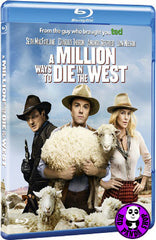 A Million Ways To Die In The West Blu-Ray (2014) (Region A) (Hong Kong Version)