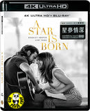 A Star Is Born 星夢情深 4K UHD + Blu-Ray (2018) (Hong Kong Version)