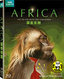 Africa 探索非洲 Blu-ray (BBC) (Region A) (Hong Kong Version)