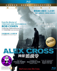 Alex Cross Blu-Ray (2012) (Region A) (Hong Kong Version)