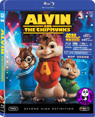 Alvin And The Chipmunks 花鼠明星俱樂部 Blu-Ray (2007) (Region A) (Hong Kong Version)
