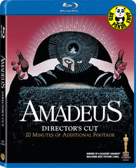 Amadeus Blu-Ray (1984) (Region Free) (Hong Kong Version) Director's Cut