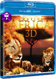 Amazing Africa 2D + 3D Blu-Ray (Universal) (Region Free) (Hong Kong Version)